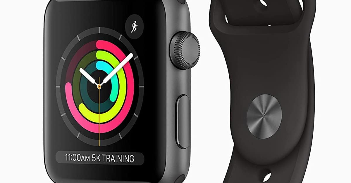 You are currently viewing AppleWatch Series3 – Space Grey Aluminium Case with Black Sport Band