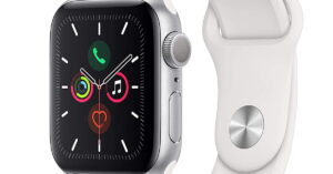 Read more about the article Apple Watch Series 5 (GPS, 40mm) – Silver Aluminium Case