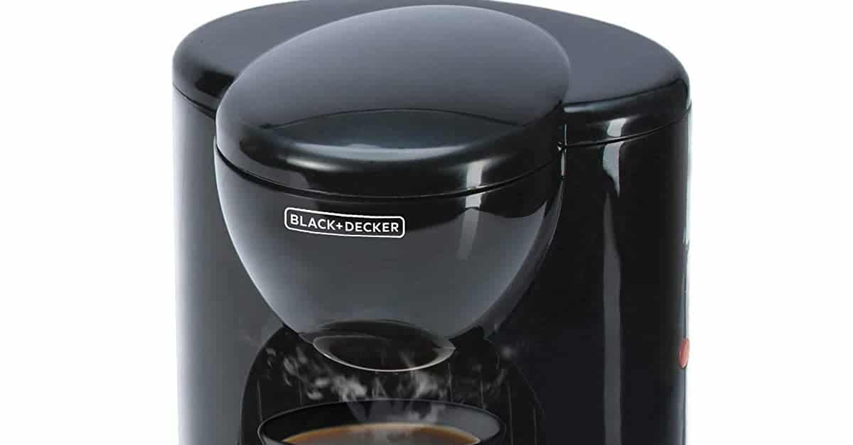You are currently viewing Black & Decker Appliances DCM25-IN 330-Watt 1-Cup Coffee Maker