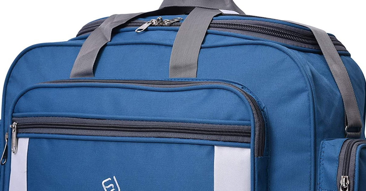 You are currently viewing Fast Look Polyester Lightweight 30 L Luggage Blue Travel Duffel Bag