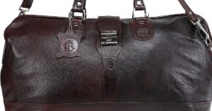 Read more about the article Royal Leather Emporium Genuine Leather Luggage Bag Brown
