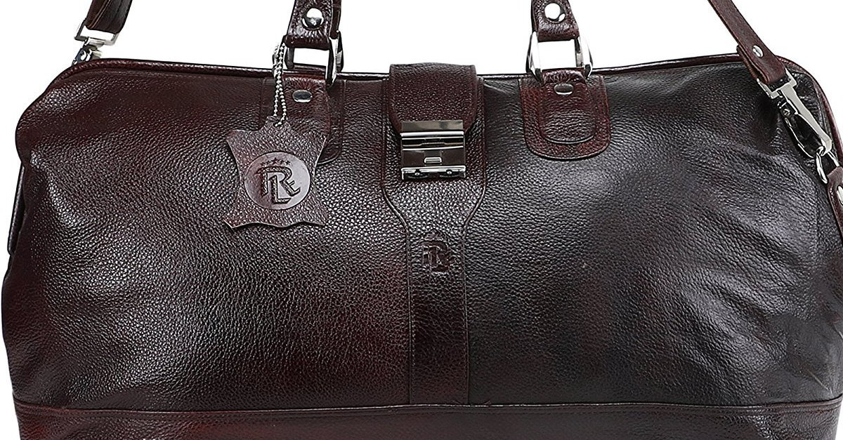 You are currently viewing Royal Leather Emporium Genuine Leather Luggage Bag Brown