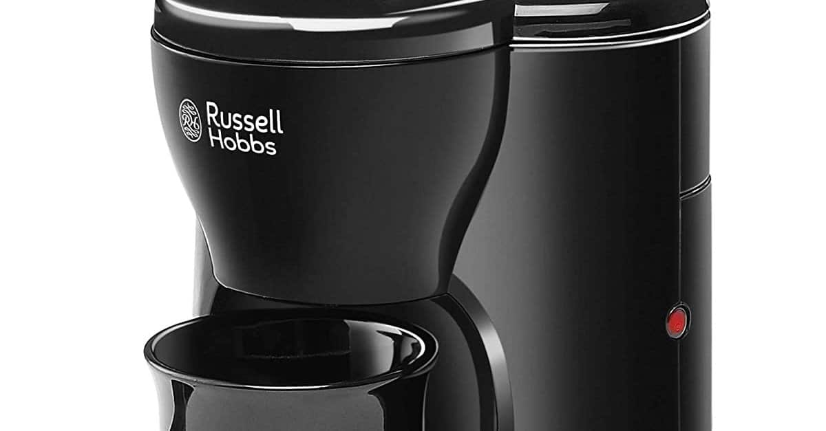 Read more about the article Russell Hobbs RCM1-330 Watt One Cup Coffee Maker with Ceramic Cup
