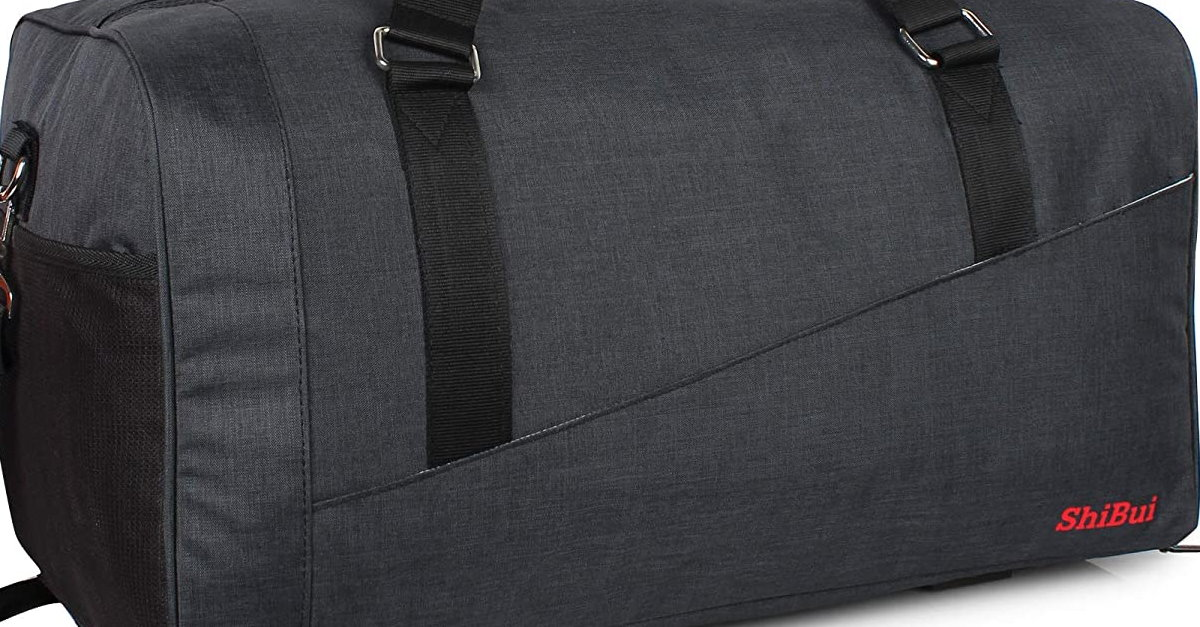 You are currently viewing ShiBui Indigo Nylon Polyester 50 litres 21 Inch Unisex Air Travel Duffle Bag
