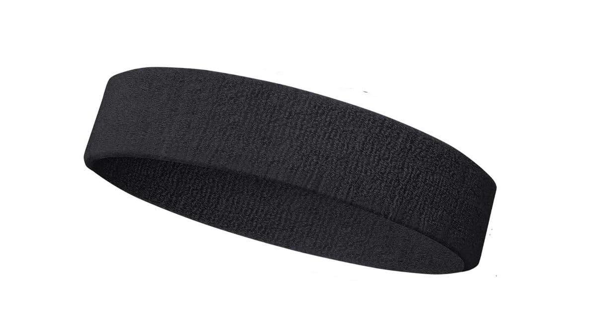 You are currently viewing Black Outdoor Fitness Sports Sweatband Headband – One of The Best