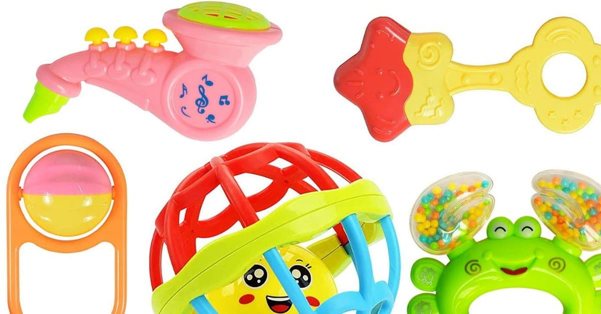 Read more about the article WISHKEY Colourful Plastic Non Toxic Set of 8 Teether