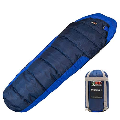 You are currently viewing RhinoKraft Sleeping Bag for Men and Women (Nylon_Black)