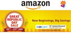 Read more about the article Amazon Republic Day Special Sale 2021 – Smartphones, Electronics and Much More