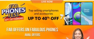 Read more about the article Fab Phones Fest 2021- Top Selling Smartphones and Accessories