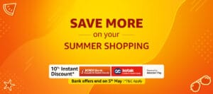 Read more about the article Great India Summer Shopping – Save More & Bank Discount