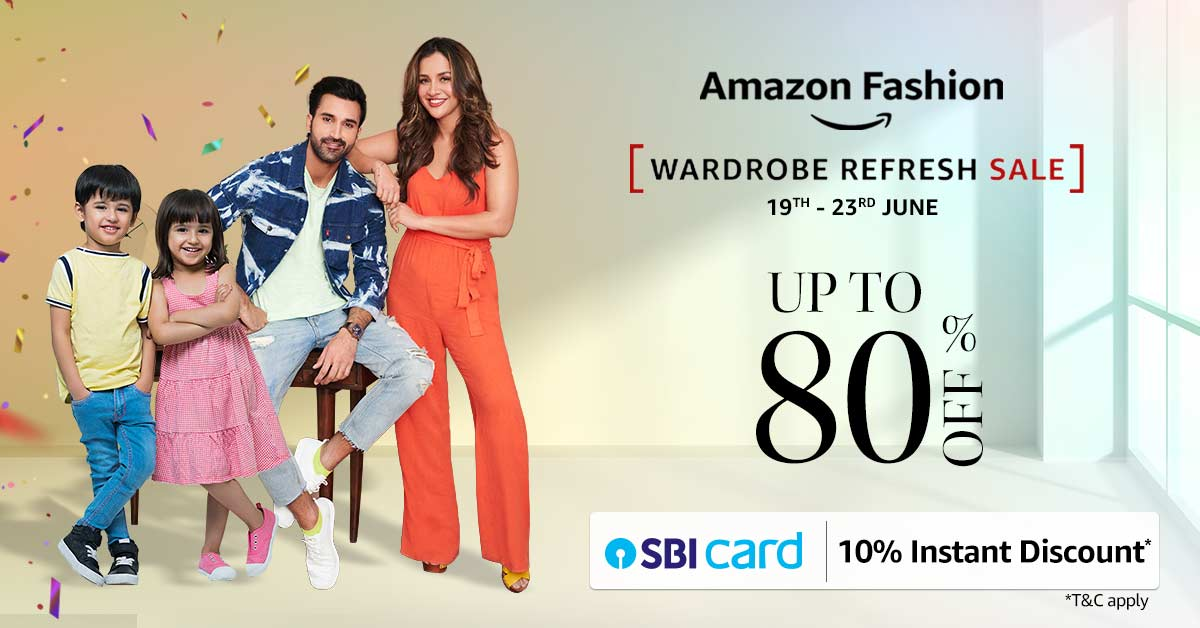 Read more about the article Amazon Wardrobe Refresh Sale